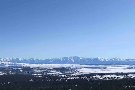The View of Views, On the Mountain with Ski Trails