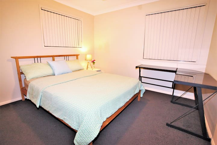 """Winter"" Double room close airport and Chermside"