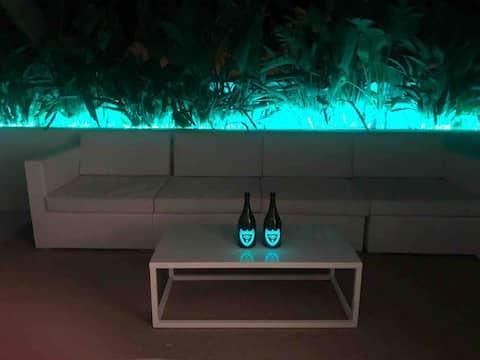 Design & Luxury Attic in botafoch marina
