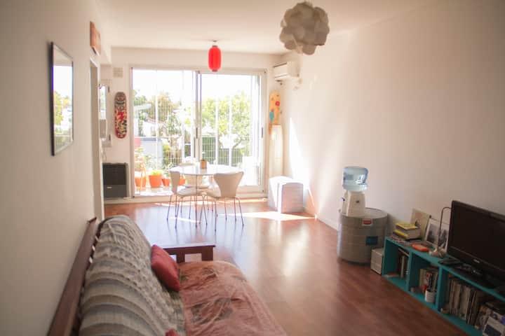 Nice flat in the heart of Saavedra.