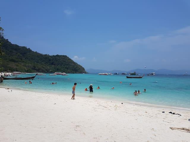 Tour to Coral Island Beach