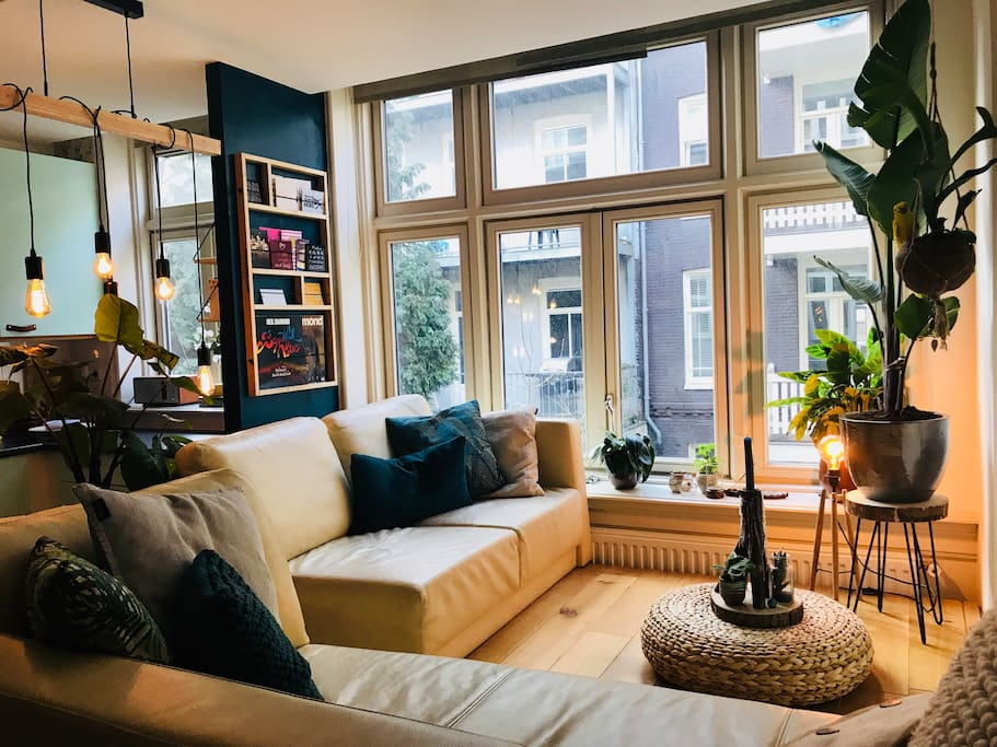 My apartment is small (36 m2). It is a cosy place and everything you need will be there.