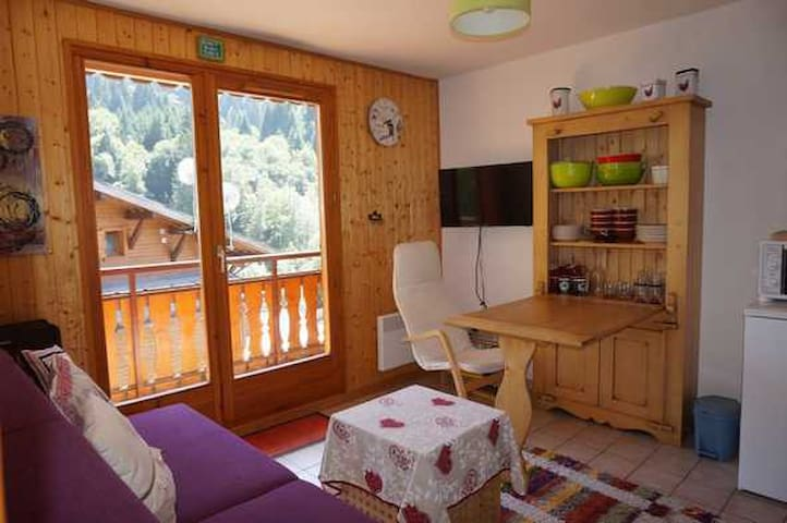 Apartment 4 ppl at the foot of Morzine slopes