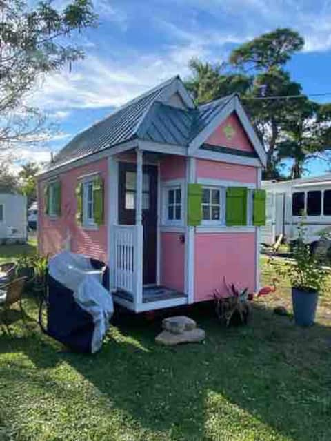 Flamingo Tiny House Next To Sanibel Island