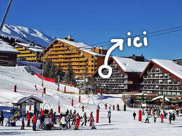 Studio 4pers./ Au Pied des  Pistes - Meribel - Apartment