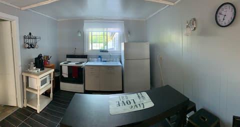 Canton home w/ private apartment on Grasse River