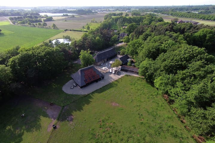 Spacious Mansion near Lake in Ulvenhout AC