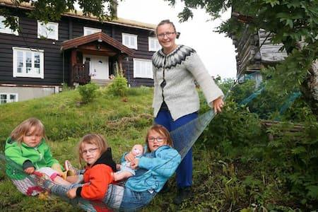 Eget rom i vårt hus, Trivselsveien. - Valnesfjord - 独立屋
