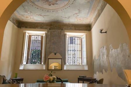 The heart of Lodi - frescoed ceilings