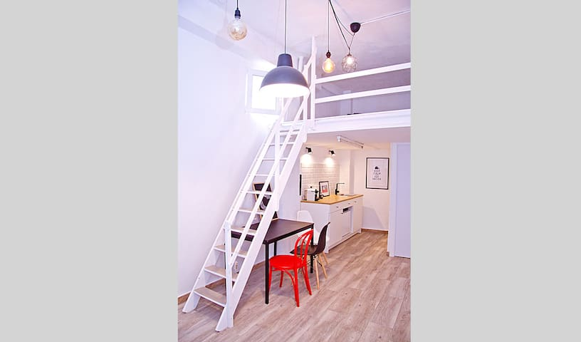 Stylish loft in the famous Old Town