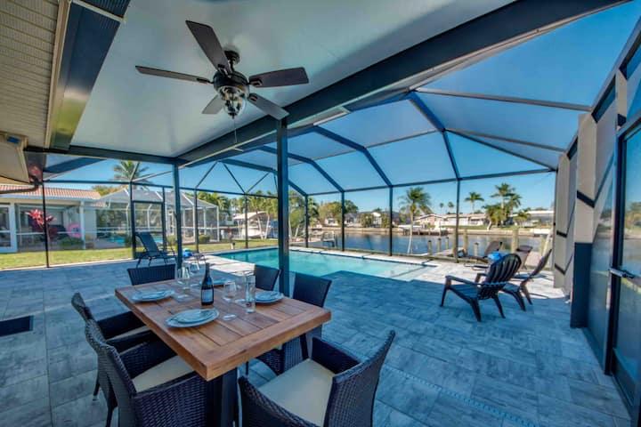 Villa Rio Grande - modern, heated Pool,  Dock