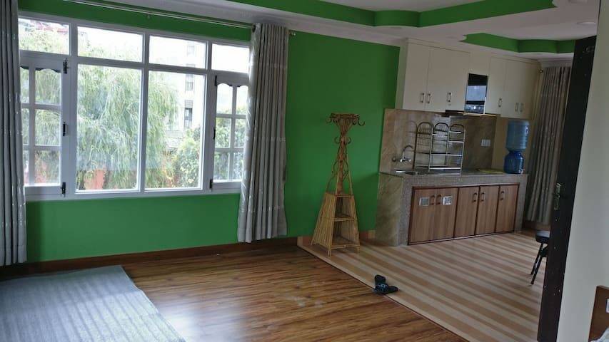 Home Stay with a studio flat