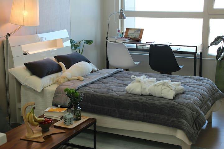 무등산 조망이 가능한 전망좋은 연우네  힐링하우스 1 - 광주광역시 - Appartement
