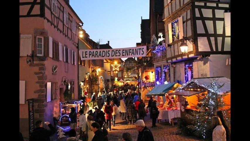 B&B 1- Entre Vosges & Alsace Ski Marchés de Noël