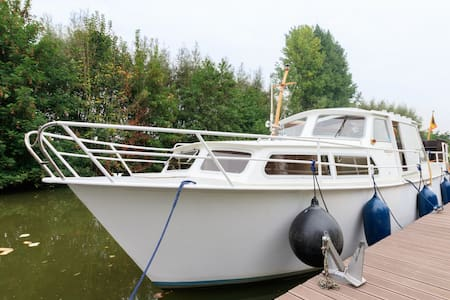 Leuk bootje op de Dender - Ninove - Boat