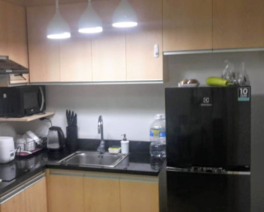 Fully Furnished Kitchen Area