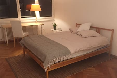 Beautiful room near the lake - 로잔(Lausanne) - 아파트