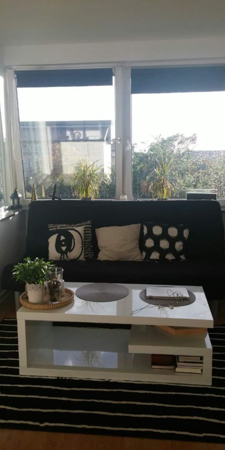 1  room apartment very close to Copenhagen
