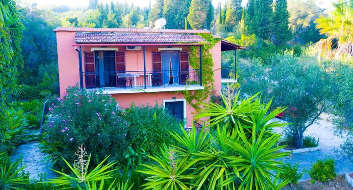 Skaros Appartement  im Honigtal auf Korfu