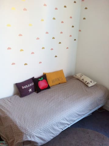 First room with single bed