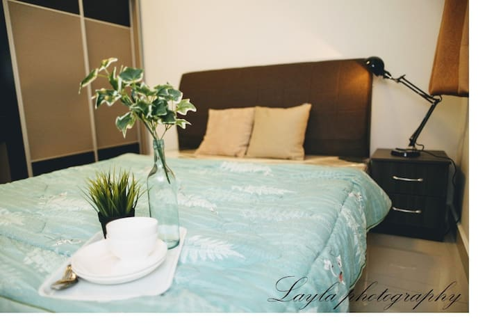 Second room. Air-conditioned and comfortable for 2 persons.