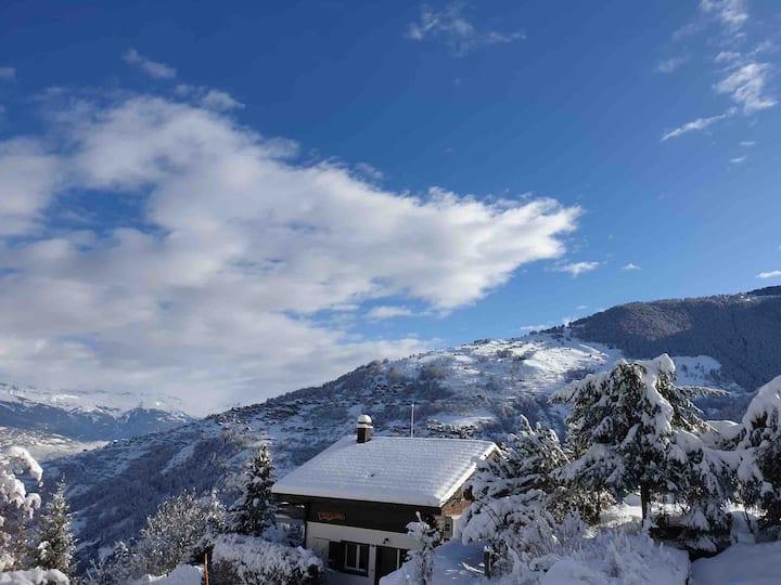 Chalet entier à Nendaz en Valais domaine 4 vallée