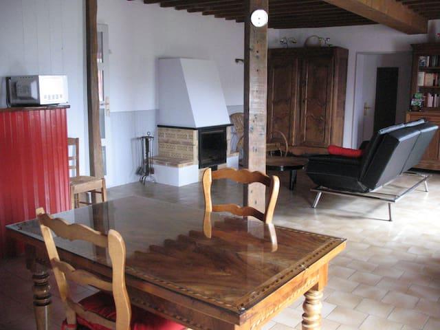 Chambre au cœur du vignoble Beaujolais - Vaux-en-Beaujolais - Hus