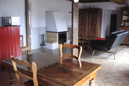 Chambre au cœur du vignoble Beaujolais - Vaux-en-Beaujolais - 一軒家