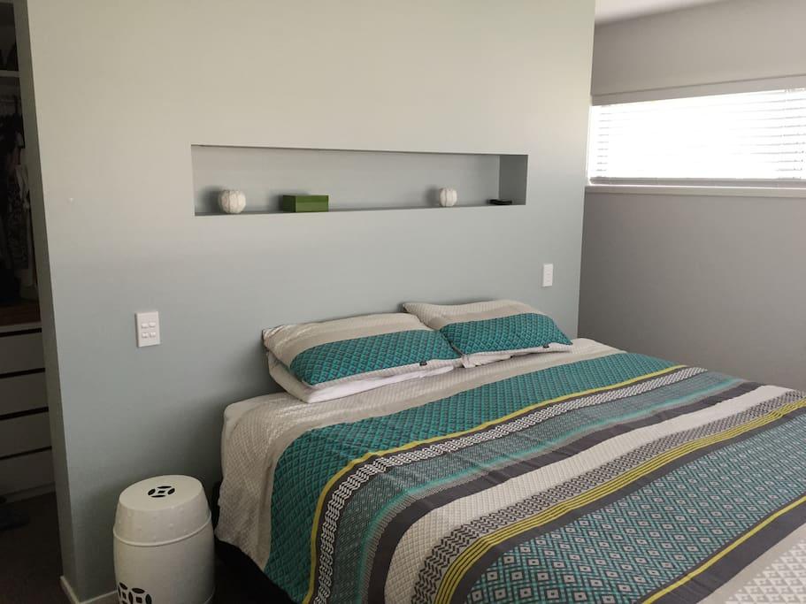 Master bedroom - super king bed.