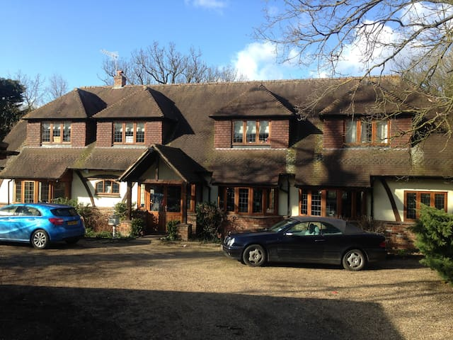 Double Room/Ensuite in Cole Green nr Hertford/WGC - Hertfordshire - Huis