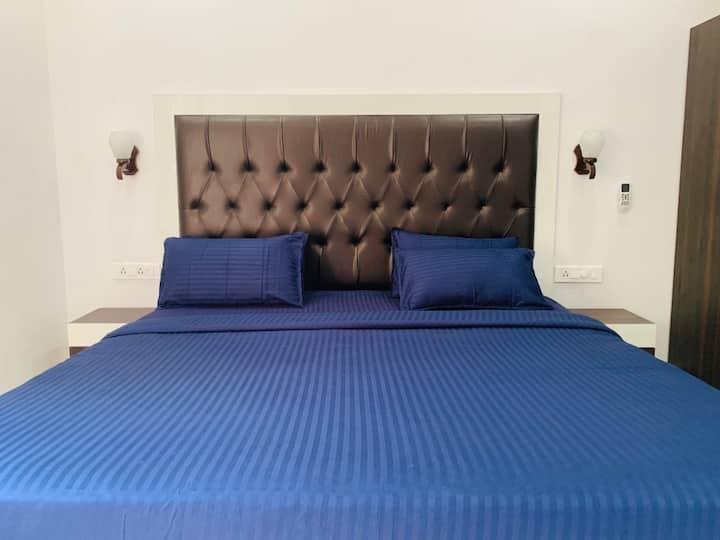 Premium Double AC Room at Arambol beach