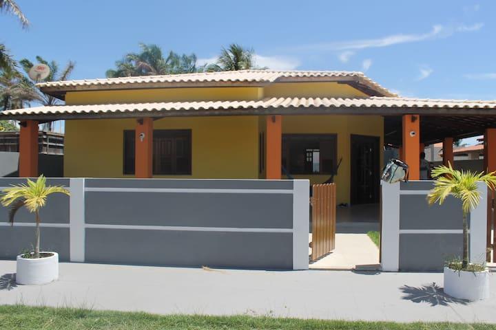 Casa Amarela na Ilha de Itaparica - Cacha Pregos - Vera Cruz - Hus