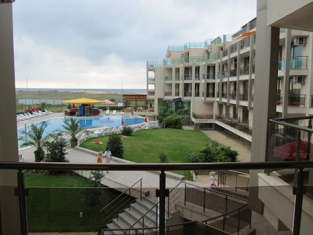 Beach apartament, seaview, 2 bedrooms, 2 baths.
