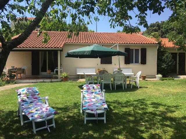 Dans un cadre bucolique Jolie villa - Santa-Maria-Siché - Rumah
