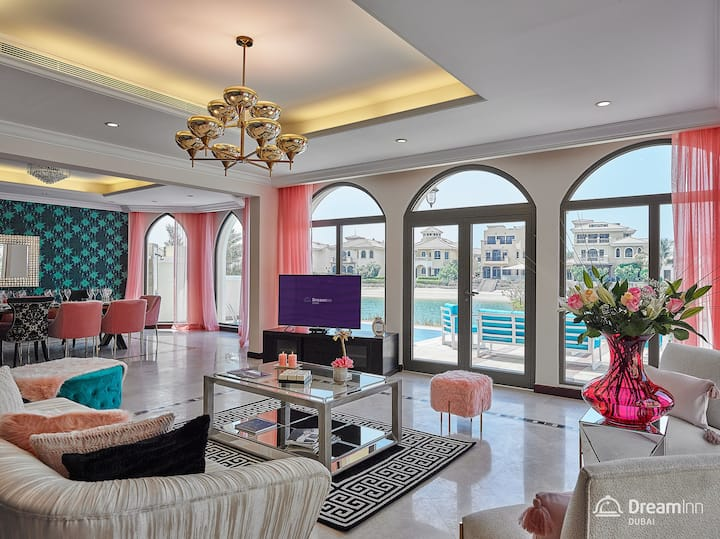Sophisticated 6BR Villa- The Palm Jumeirah