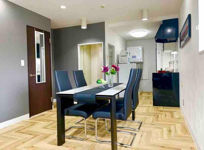 The apartment hotel ZEN: 2 bedrooms, 65㎡