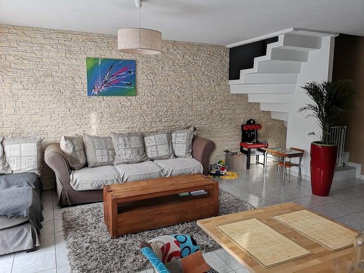 Belle maison moderne en Alsace
