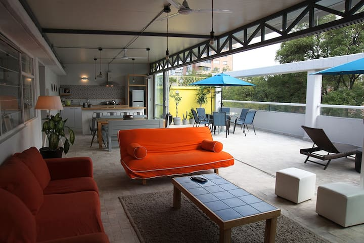 Penthouse Suite in the heart of the Condesa