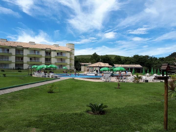Aluguel de Flat Aldeia das Águas Park Resort