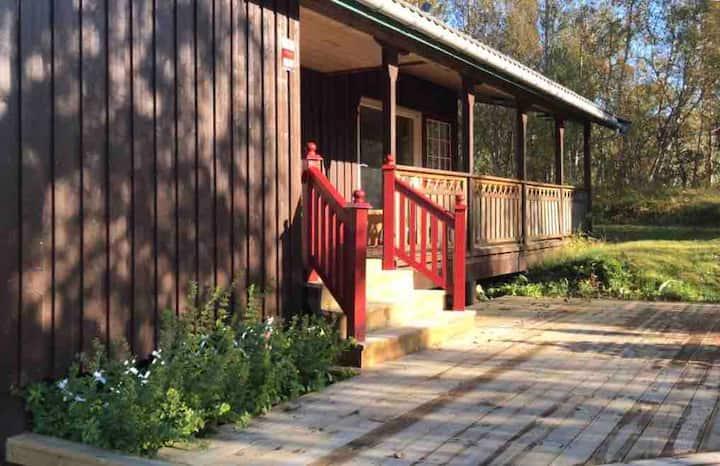 Flott hytte nært Bodø og gode friluftsområder