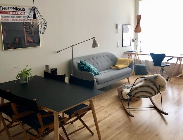 Cosy apartment, 8 minutes from CPH Central Station