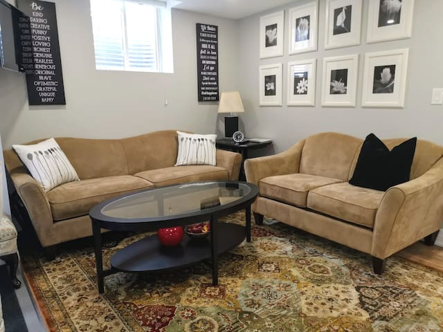 Elegant. Independent. 1 Bedroom Basement Apartment