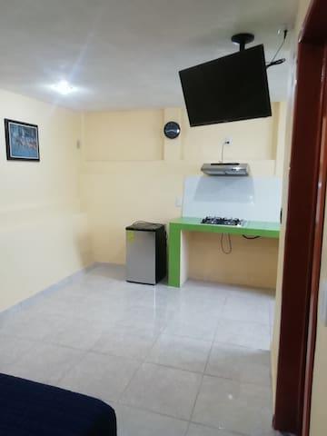 Habitación limpia y cómoda no te arrepentirás!!
