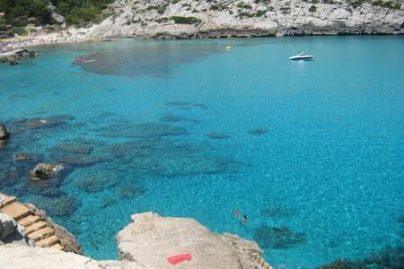 Perfect house close to the sea, terrace, BBQ, WIFI - Cala Sant Vicenç - 独立屋