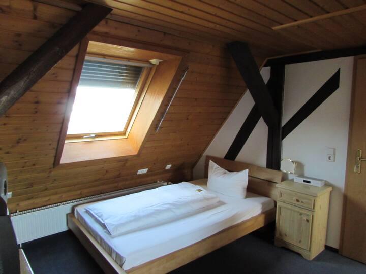 Ratsstube, (Sinsheim), Einzelzimmer Economy mit Dusche und WC