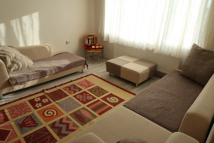 Cosy flat in the center of Çanakkale /private Room