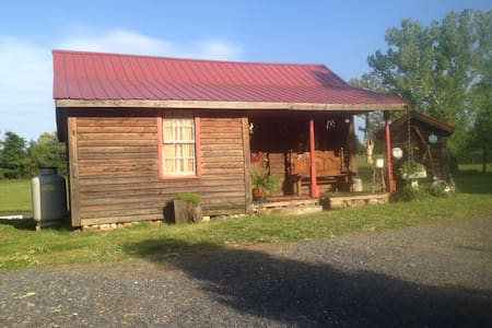 Maw and Pap's Tiny Cabin - Asheboro - Haus