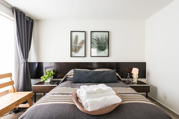 ✮ Studio/homeoffice safe+ central + ventilated