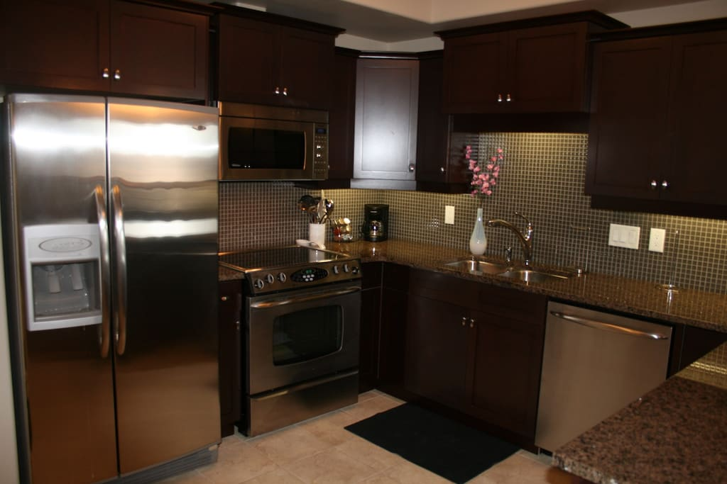 Completely tooled with all items required for Meal Preparation Stainless Steel Appliances