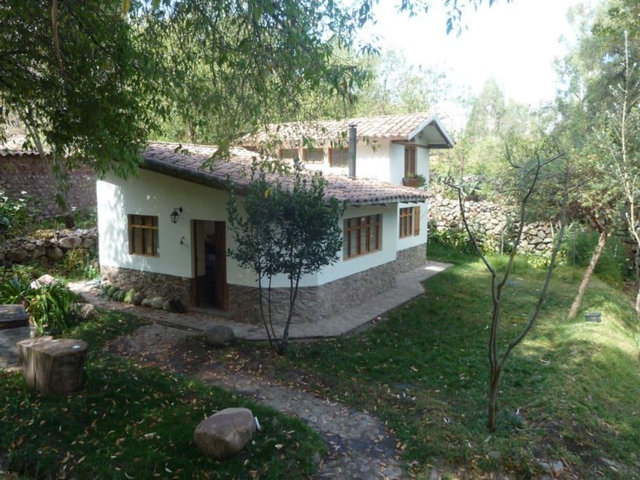 Jardin secreto cottages for rent in urubamba cusco peru for Jardin secreto